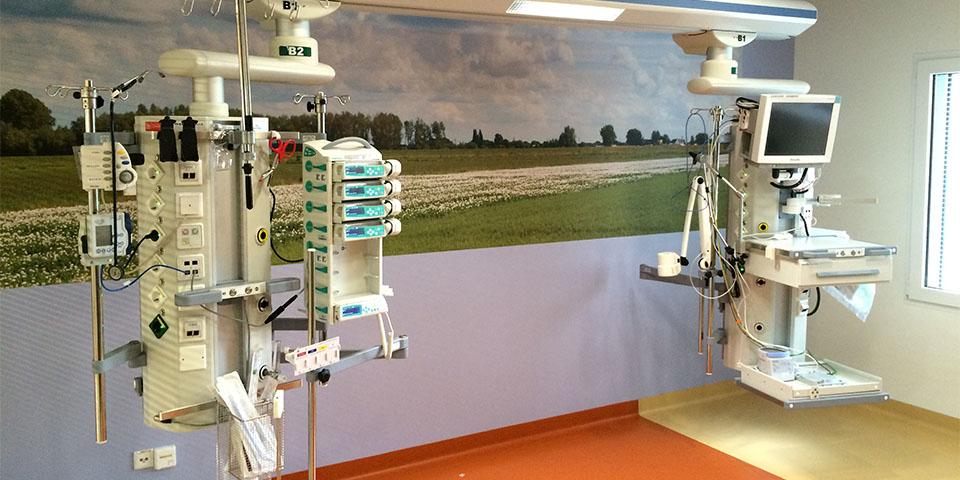 Met haar producten heeft Heijneman Medical een groot aantal hybride en Iort-operatiekamers ingericht.